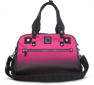 Torba KOI - Utility Bag Flamingo/black - intesywnyróż/czarny