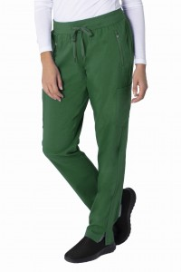Spodnie medyczne Healing Hands Purple Label JOGA  Toni kolor Hunter - zielony
