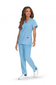 Komplet medyczny Betsey Johnson Freesia + Buttercup kolor Blue Bell