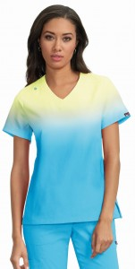 Bluza medyczna KOI Lite Reform Lemon Lime/Electric Blue